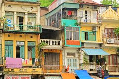 Residence in Hanoi, Hanoi Vietnam Stock Photos