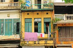 Residence in Hanoi, Hanoi Vietnam Stock Photo