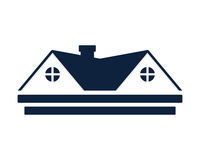 Residence house image. Good logo or image for your company Royalty Free Stock Image