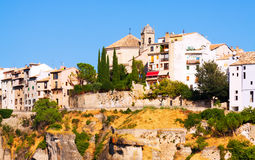 Residence houses in Cuenca Stock Photo