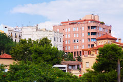 Residence houses in Tarragona Stock Images