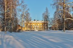 The Residence in Luleå in winter landscape Stock Image