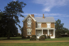 Residence in Moorefield along Route 220, WV Royalty Free Stock Photo