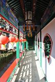 Residence of an official in Qing dynasty. It was the residence of Jixiaolan in Qing dynasty stock photography
