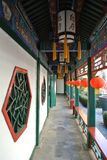 The residence of an official in Qing Dynasy. This is Jixiaolan's home.He was an excellent official in Qing Dynasy ,Beijing China stock photo