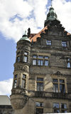 Residence Palace view from Dresden in Germany Royalty Free Stock Image