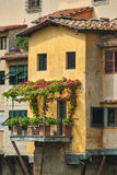Residence on Ponte Vecchio Royalty Free Stock Photo