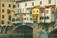 Residence on Ponte Vecchio Royalty Free Stock Photography