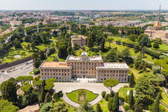 Residence of the Pope in Vatican City Royalty Free Stock Images