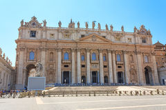Residence of the Pope in Vatican Royalty Free Stock Photography