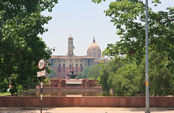 Residence of the President of India. New Delhi Stock Photos