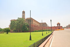 Residence of the President of India. New Delhi. View of Residence of the President of India. New Delhi royalty free stock photo