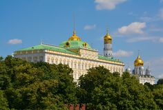 Residence of the president. Of Russia, Moscow city, Russia royalty free stock image