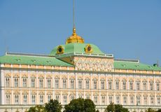 Residence of the president. Of Russia, Moscow city, Russia royalty free stock images