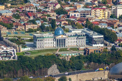 The Residence of President in Tbilisi, Georgia.  stock images
