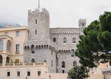 Residence of the Prince of Monaco royalty free stock photo