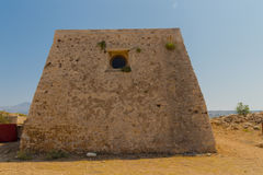 The Residence of the Rector in Fortezza Castle. Royalty Free Stock Image