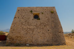 The Residence of the Rector in Fortezza Castle. Stock Images
