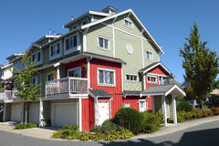 Residence in Richmond BC Canada. Stock Photos
