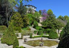 Residence of the Romanian queen by the black sea in Balchik Stock Photo