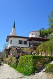 Residence of the Romanian queen by the black sea in Balchik Royalty Free Stock Images