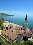 Residence of the Romanian queen by the black sea in Balchik Royalty Free Stock Photos