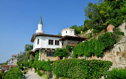 Residence of the Romanian queen by the black sea in Balchik Royalty Free Stock Image