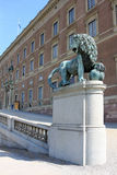 Residence of the Swedish kings Royalty Free Stock Photography