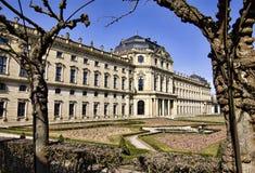 Residence, Wuerzburg, Bavaria Royalty Free Stock Image