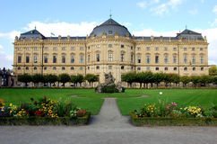The Residence in Wurzburg, Bavaria Stock Photos