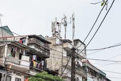 Residences in Hanoi Royalty Free Stock Photos