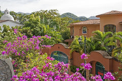 Residences in the hills of Puerto Vallarta Royalty Free Stock Image