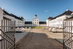Residencia de la familia danesa real, guarida del verano del castillo de Graasten fotografía de archivo libre de regalías
