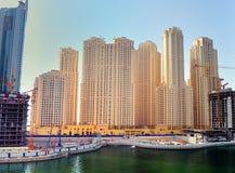 Residencia de la playa de Jumeirah Imágenes de archivo libres de regalías