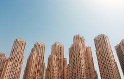 Residencia de la playa de Jumeirah Fotografía de archivo