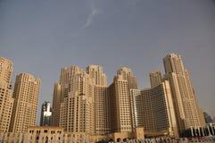 Residencia de la playa de Jumeirah imagen de archivo