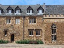 Residencia de la Universidad de Oxford Fotografía de archivo libre de regalías
