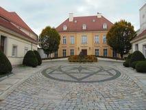 Residencia de los obispos para papa Juan Pablo II imagen de archivo libre de regalías