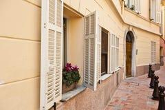 Residencia de Mónaco Fotografía de archivo libre de regalías