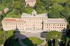 Residencia de Vatican Fotos de archivo libres de regalías