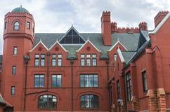 Residencia del campus de la señal en Milwaukee foto de archivo