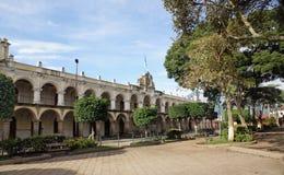 Residencia del capitán General de la capitanía general de Guatema Foto de archivo