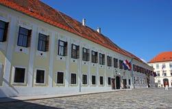 Residencia del gobierno de Croacia Imagen de archivo