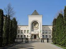 Residencia del patriarca de Moscú y de toda la Rusia. Fotos de archivo