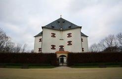 Residencia Hvezda del verano - protagonice (Letohradek Hvezda), Praga Imagen de archivo libre de regalías