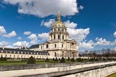 Residencia nacional del Invalids (Les Invalides) Fotografía de archivo libre de regalías