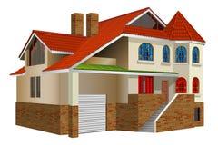 Residencia privada ilustración del vector