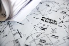 Residencia propuesta Fotografía de archivo