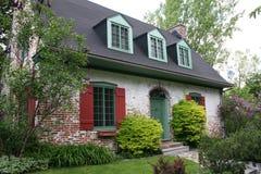 Residencia vieja hermosa del estuco Imagen de archivo libre de regalías