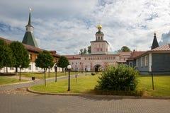 Residenciais do monastério imagem de stock
